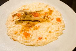 Risotto with Alaskan King Crab